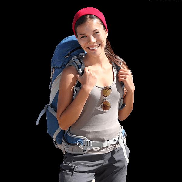 backpacker-girl-ocean-beah-hotel